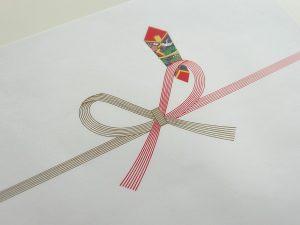 蝶結びのし紙