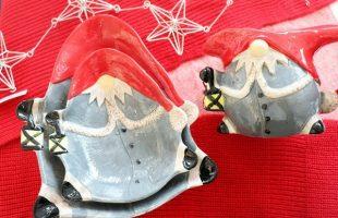 クリスマスの食器(小人)