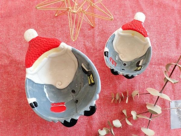 クリスマスの食器(サンタ)