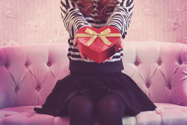 バレンタイン 手渡し
