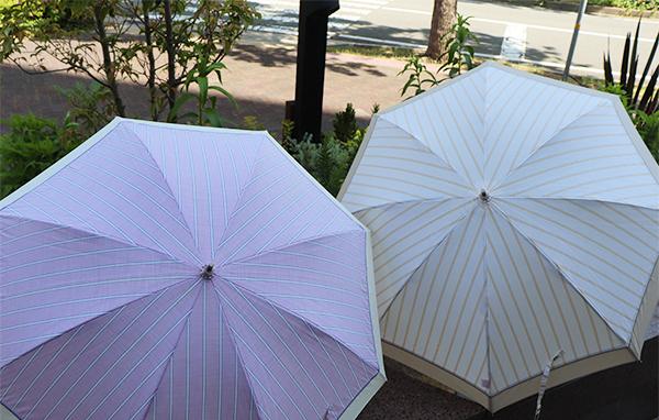 ストライプ柄 傘