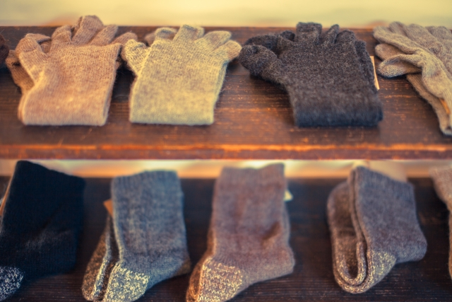 秋冬の靴下