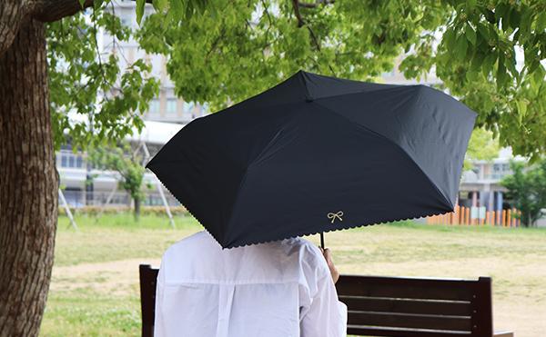 リボン柄 傘